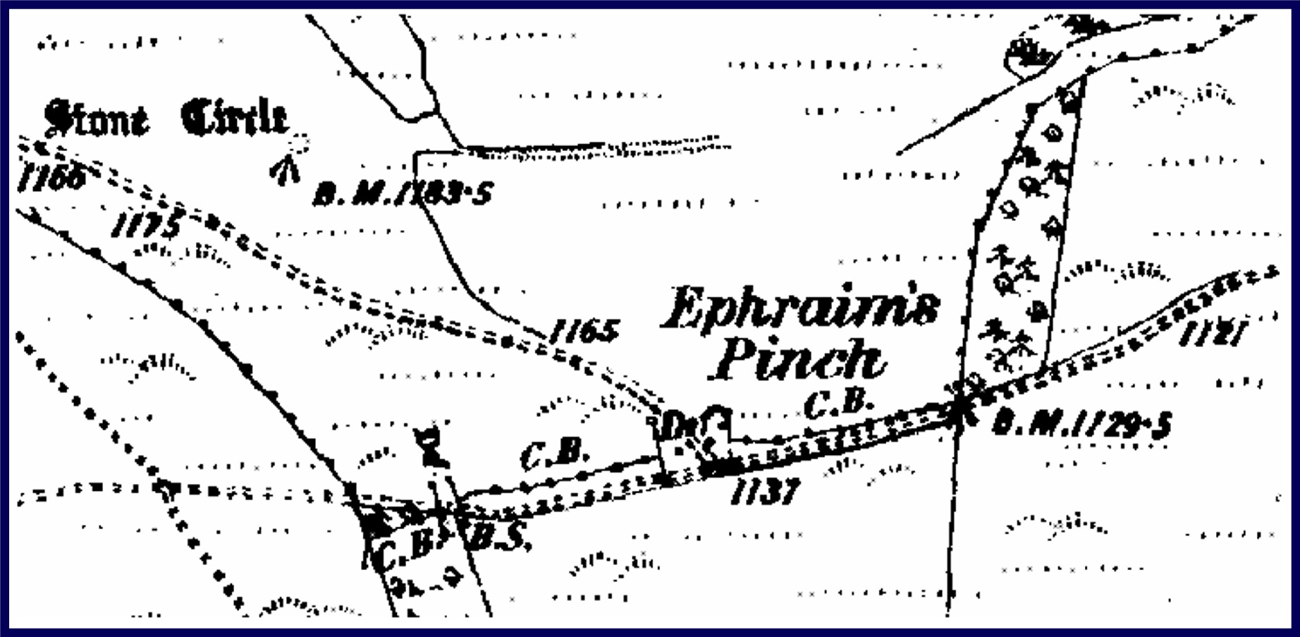 Ephraim's Pinch